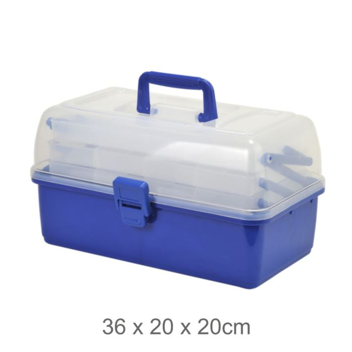 1247782 Shakespeare Tackle Box 3 Cantilever New 2020 Stocks *